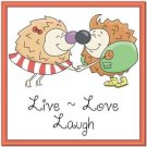 Beautiful Cute Decor Collectible Kitchen Fridge Magnet ~ Life of Hedgehogs #4