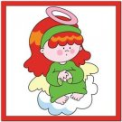 Beautiful Cute Decor Design Collectible Kitchen Fridge Magnet -Angel on Cloud #2
