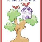 Beautiful Cute Decor Collectible Kitchen Fridge Magnet - Birdhouse & Birdies #5
