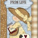 Primitive Country Folk Art Kitchen Refrigerator Magnet - Little Farm Girl #2