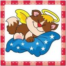 Beautiful Cute Decor Collectible Kitchen Fridge Magnet - Sleeping Angel Cat #6
