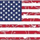 Beautiful Decor Design Collectible Kitchen Fridge Magnet - Patchwork US Flag #3