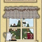 Primitive Country Folk Art Kitchen Refrigerator Magnet - The Gathering Room