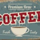 Beautiful Retro Decor Collectible Kitchen Fridge Magnet - Fresh Tasty Coffee