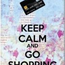 Keep Calm Collectible Art Kitchen Fridge Refrigerator Magnet - Go Shopping