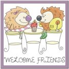 Beautiful Cute Decor Collectible Kitchen Fridge Magnet ~ Life of Hedgehogs #5
