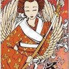 Beautiful Decor Collectible Kitchen Fridge Magnet - Fantasy Japanese Geisha #3
