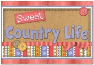 Beautiful Decor Design Collectible Kitchen Fridge Magnet - Sweet Country Life