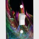 Wall Plate Light Switch Cover Vinyl Sticker Decal Decor - Rainbow Fire
