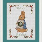 Cross-Stitch Embroidery Color Pattern with DMC codes-The Tale of Peter Rabbit #3
