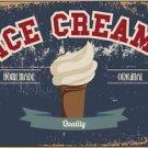 Beautiful Retro Decor Collectible Kitchen Fridge Magnet - Homemade Ice Cream