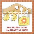 Beautiful Cute Decor Collectible Kitchen Fridge Magnet - Farmhouse Kitchen #2