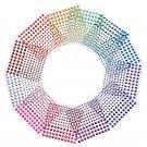 3 Size 12 Sheets Multicolor Self-Adhesive Rhinestone Sticker Sheet