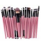 Make Up Brush Brushes Set in best value, Blush Eye Shadow Foundation Eyebrow Lip Brush in Pink
