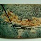Modern Postcard in retro style Russia / Sochi /Ski resort /Tourism/ Sights