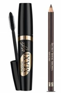 [Faberlic] Volumizing mascara Maxi style (black) & Eyebrow pencil (brown)