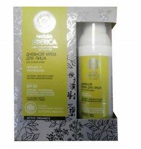 Natura Siberica - Organic Cosmetics. Face day cream for dry skin. 50ml