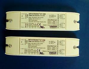 [2 pc] OSRAM OPTOTRONIC OT DIM PWM LED DIMMER 5A MAX 24V Netzteil Dimmer DALI