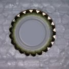 100 Gold Crown Beer Bottle Plain Caps, Bottling Beer Home Brew Brewing New