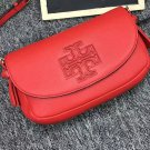 Authentic Tory Burch Red Harper Mini Cross Body Bag