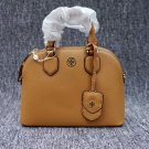 NWT Tory Burch Robinson Pebbled Leather Dome Satchel