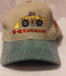 Kawasaki Heavy Equipment JAI Green w/ Teal Bib Baseball Cap