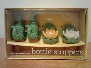 Boston Warehouse Bottle Stoppers-Everglade Garden