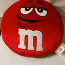 M & M Red Pillow