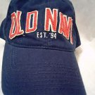 Old Navy Dark Blue Felt Letter Sewn On Baseball Cap