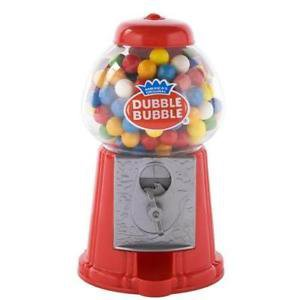 Classic Dubble Bubble Gumball Coin Bank New