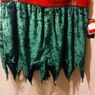 JINGLE ELF GREEN CRUSHED VELOUR FLY FRONT MAX DECO BOXERS L 36/38 NEW WITH TAG!