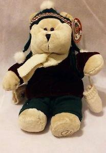 Starbucks Coffee Bearista Stuffed Teddy Bear Christmas Winter 42nd Edition