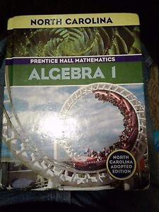 Algebra 1 Prentice Hall Mathematics (Hardcover)NC Edition