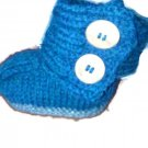 Crocheted baby ugg booties by misspiggystore