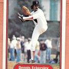 Dennis Eckersley 1982 Fleer (C0042)