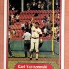 Carl Yastrzemski 1982 Fleer (C0043)