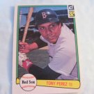 Tony Perez 1982 Donruss (C0089)