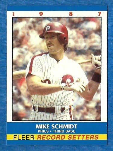 Mike Schmidt 1987 Fleer Record Setters (C00171)