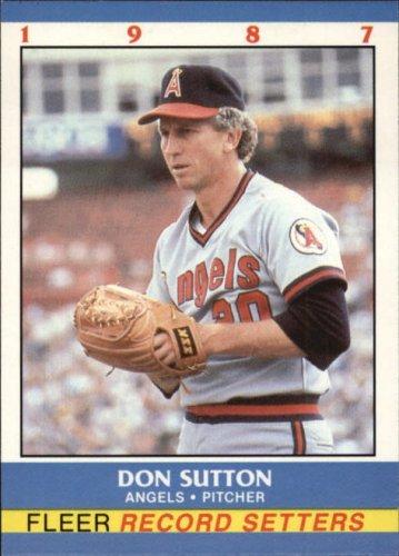 Don Sutton 1987 Fleer Record Setters (C00173)