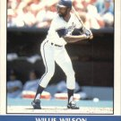 Willie Wilson 1987 Fleer Record Setters (C00182)