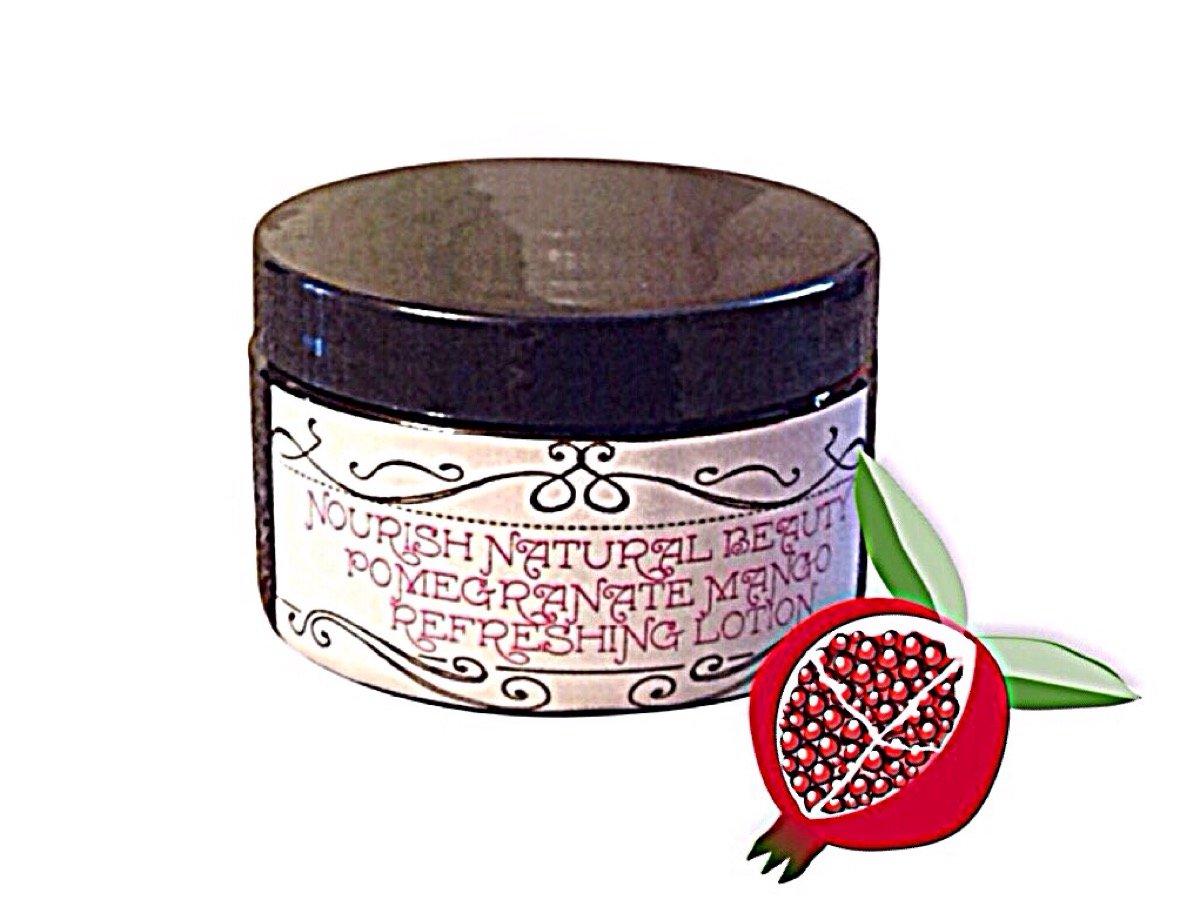 Pomegranate mango refreshing lotion