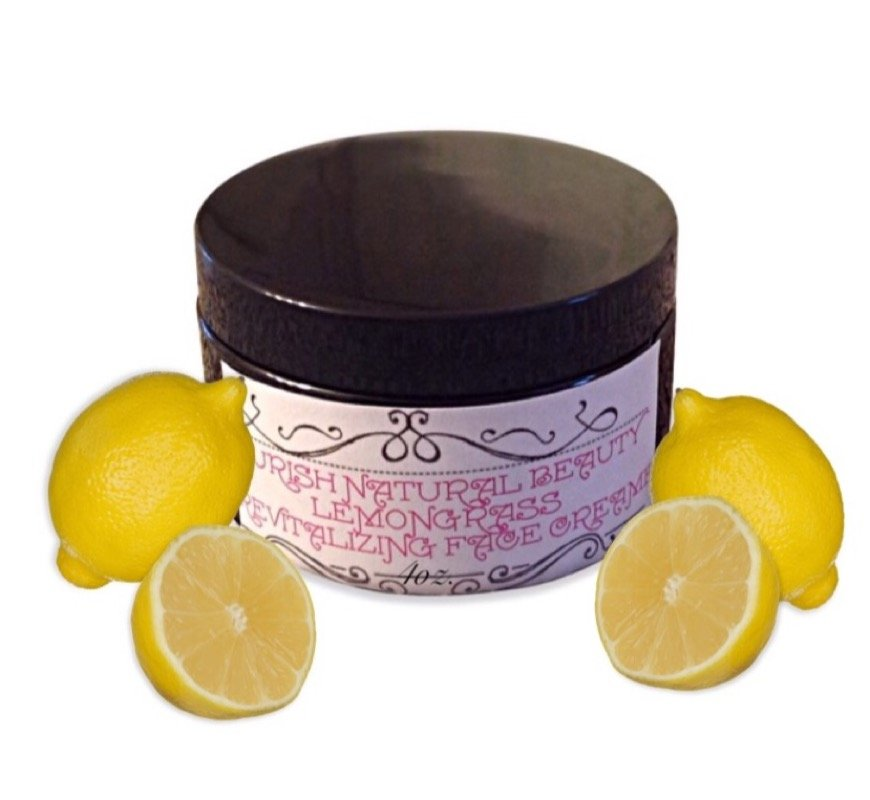 Lemongrass revitalizing face cream
