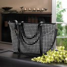 Checkered Tote Bag -10015990