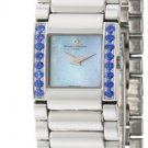 Baume and Mercier MOAO8050 Ladies Watch Stainless Steel Catwalk Quartz Blue Mother Of Pearl Sapphire