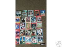 Different 25 Baseball Cards