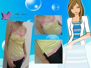 Sweet Lace + Ribbon Camisole
