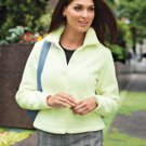 Fleece Jacket, Moss, Medium
