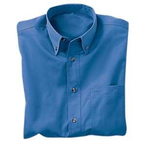 Heavyweight Easy Care Shirt, Blue, Medium