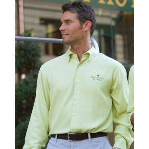 Cubavera Silk Shirt, Lime, Large