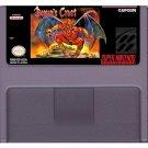 Demon's Crest (Super Nintendo, SNES) – Reproduction Video Game Cartridge